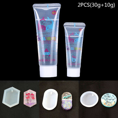 2PCS Crystal Clear Resin Pigment Epoxy Transparent clear Resin Art Craft forCNH