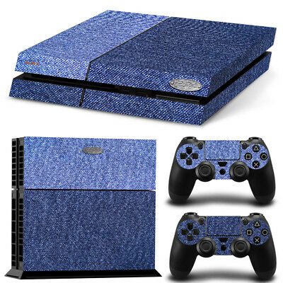 Sticker Couverture Protection Ps4 Skin Deco Jean's Console Manettes Ps4S017