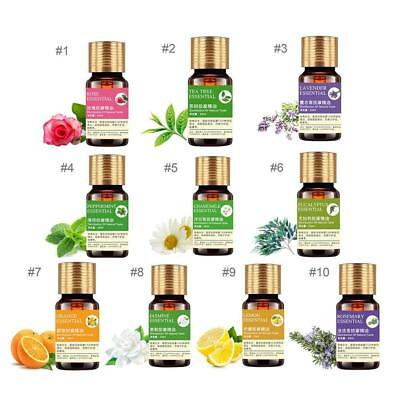 Pure Essential Oils 10 ml Aroma Oil Spa Fragrance Diffuser Aromatherapy