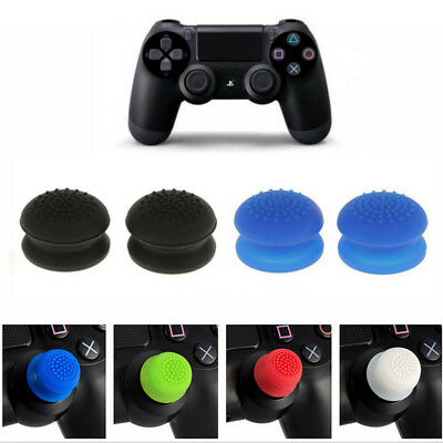 Analog Thumbstick Caps Rised Thumb Grips Extender for Sony PS4 PS3 Xbox One 360