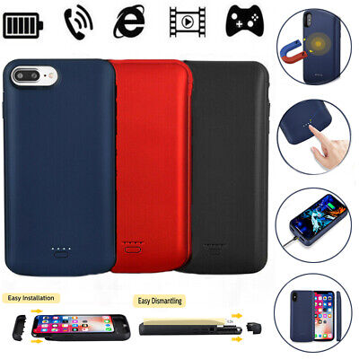 iPhone X XS 6000mAh Battery Case Charger Charging Cover Slim Backup Power Bank