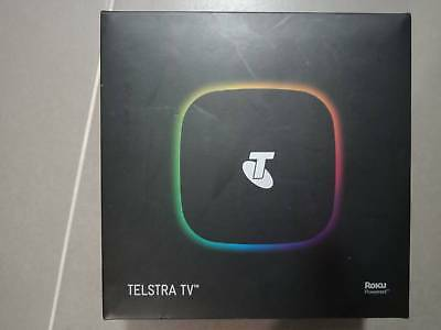 Telstra TV Powered by Roku 4200TL Black