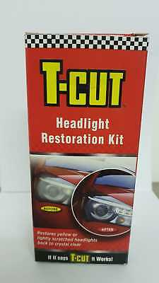 T-Cut Headlight Restoration Kit [ THK001 ]-Restores Yellow &-Scratched*Headlamps