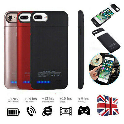 4200mAh External Battery Charger Magnetic Charging Case For iPhone 6 6S 7 8 Plus