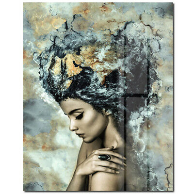Frameless Art Modern Abstract Painting Canvas Picture Print Wall Hangings Decor