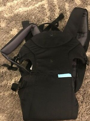 Infantino Flip 4-in-1 Convertible Baby Carrier - Black (200-183)