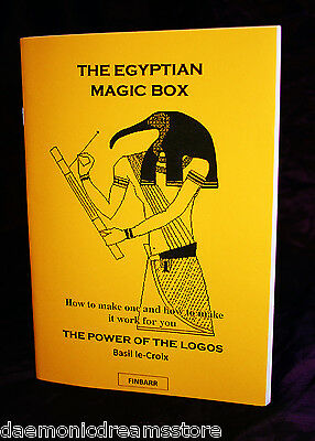 EGYPTIAN MAGIC BOX. Basil Crouch Le-Croix, Finbarr Grimoire. Power of the Logos
