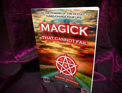 FOUND Finbarr Occult Grimoire White Witchcraft Dowsing Magic Magick