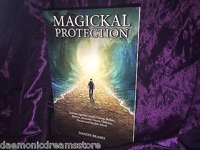 MAGICKAL PROTECTION Finbarr Occult Magic Magick White Grimoire Black Witchcraft