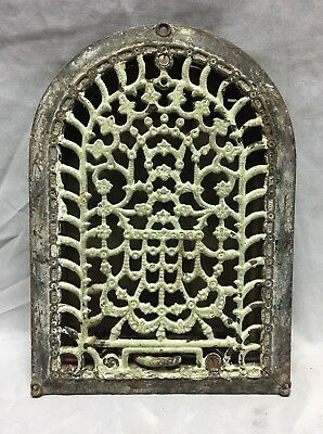 Antique Cast Iron Arch Dome Top Floor Register Heat Grate 8X12 Old Vtg 731-18C