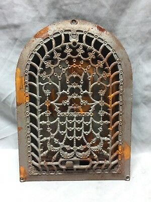 Antique Cast Iron Arch Dome Top Floor Register Heat Grate 8X12 Old Vtg 732-18C