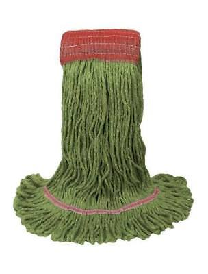 Echo Cotton/Rayon/Synthetic Loop Mop Head Refill 1400L/Green Commercial