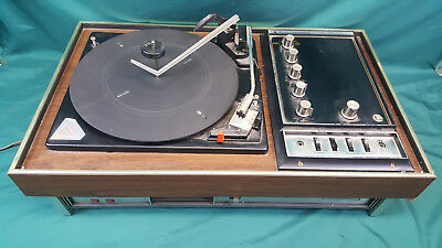 Electrophonic Multiplex Stereo Receiver Garrard Turntable 2025TC 8 Track Player