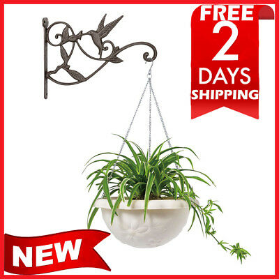 Mkono Hanging Plant Bracket Hook Decorative Plant Hanger outdoor indoor macrame