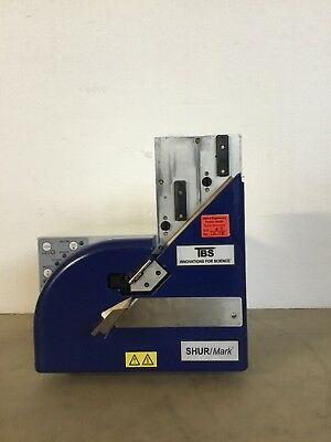 TBS SHUR MARK Cassette Labeler, Model E22.01MWC Cassette Printer