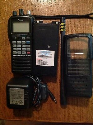 5e95dcb50bd iCom A-24 Transceiver Package first one gets FREE DESKTOP CHARGER!