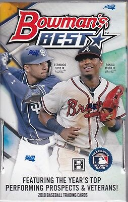 2018 Bowman's Best Hobby Box Factory Sealed