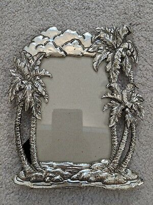 "2001 ARTHUR COURT PICTURE FRAME PALM TREES 4"" x 6"" (#2)"