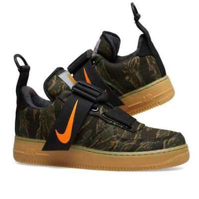 123eba02cc545 Nike Air Force 1 Utility Low PRM x Carhartt WIP camo tiger AV4112-300 One