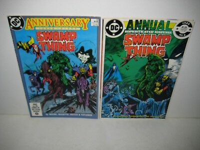 Swamp Thing #50 Annual 2 (1986) Alan Moore, First Full appearance Justice League