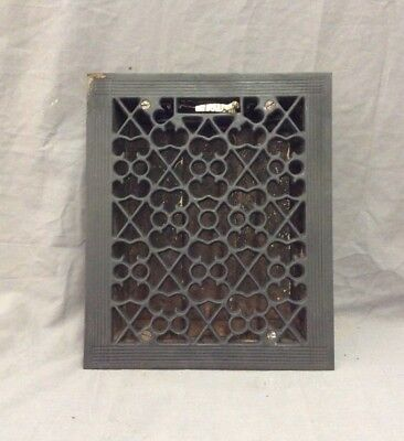 Antique Cast Iron Decorative Heat Grate Floor Register 8X10 Vintage Old 3-19D