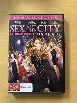 SEX AND THE CITY - THE MOVIE DVD Like New Region 4