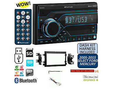 2005-2015 Select Models FORD MERCURY MP3 USB AUX BLUETOOTH SD CAR Stereo