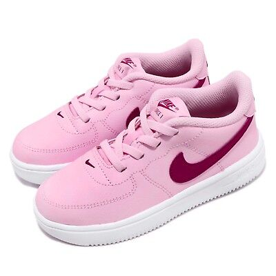 big sale 9249b 72250 Nike Force 1 18 TD Pink True Berry Toddler Infant Baby Shoes Sneakers  905220-605