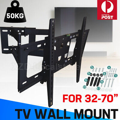TV WALL MOUNT BRACKET LCD LED Plasma Flat Slim 32 40 42 47 50 52 55 60 65 70 AU