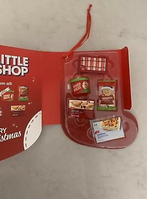 Coles Little Shop Christmas Limited Edition Folder Case & Full Set Of Mini'S