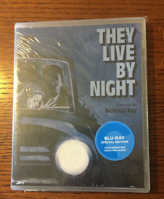 They Live By Night Criterion Blu Ray New Sealed