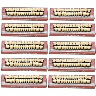 560Pc/20Set Dental Denture Acrylic Resin Full Set Teeth Upper Lower Shade 23# A3
