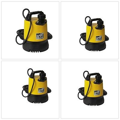 Electric Water Pump Submersible Durable Heavy Duty Weather Resistant Sturdy