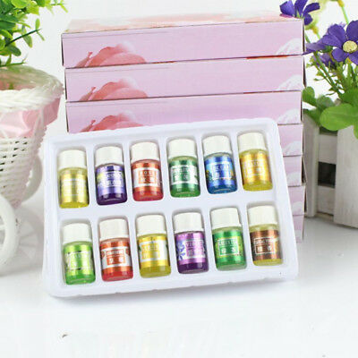 12Pcs/set Pure Organic Essential Oil Aromatherapy For Humidifier Aroma Diffuser