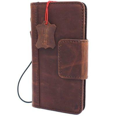 Genuine Vintage Real Leather Case for Google Pixel 3 Book Wallet Cover Handmade