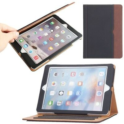 For Apple iPad 9.7 6th Generation 2018 Soft Leather Smart Cover Case Sleep Wake