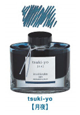 Pilot INK-50-TY Iroshizuku Fountain Pen Ink Midnight Blue (tsuki-yo) 50ml 367298