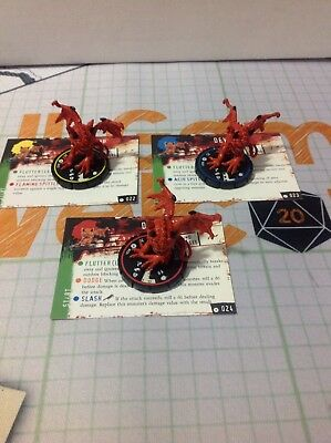 Horrorclix Base Set Devil Imp REV set