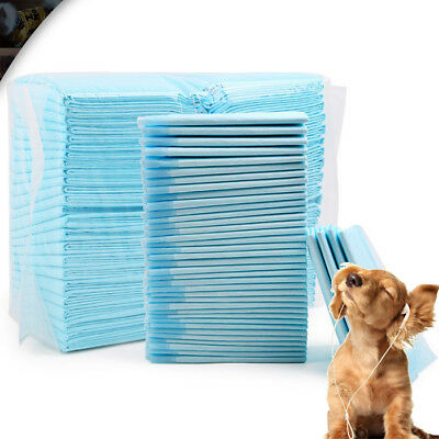 100x Puppy Pads Super Absorbent Leak-Proof 100 Count Dog Cat Pee Training Pads