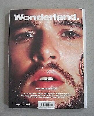 Kit Harington (Game Of Thrones) Lily James - Wonderland Magazine ***rare/oop***