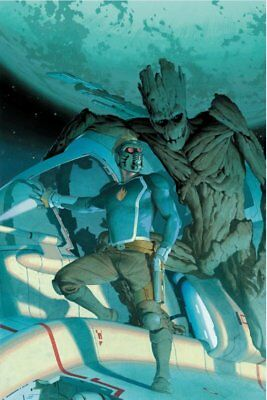 Guardians Of The Galaxy 1 1:50 Esad Ribic Trade Dress Variant Pre-Sale Nm Hot