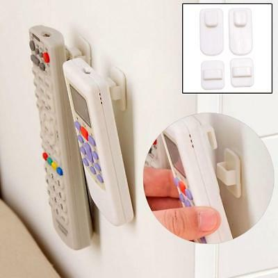 ABS TV Remote Control Organizer Storage Stand Holder Hooks Strong Hanger Hot FZ