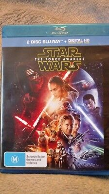 Star Wars The Force Awakens Blu-ray Region Free New/UNSEALED  cheapest on ebay