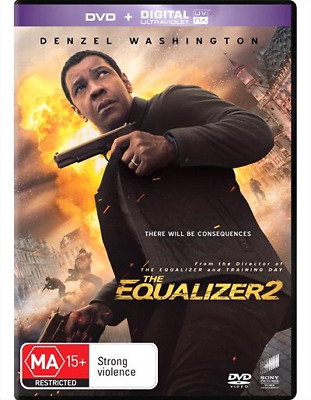 The Equalizer 2 (DVD, 2018) NEW