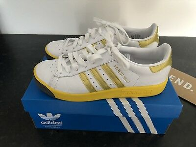 newest fb58e 01ce6 ADIDAS FOREST HILLS UK 8 White  Gold  Yellow spezial spzl
