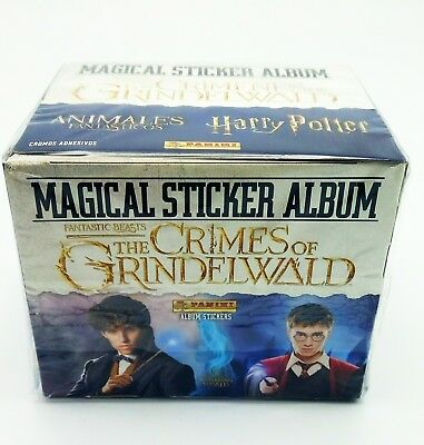 Harry Potter Animali Fantastici Crimini Grindelwald Box 50 bustine figurine