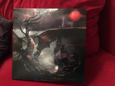 SULPHUR AEON - The Scythe Of Cosmic Chaos [RED] (DLP) Limited 200