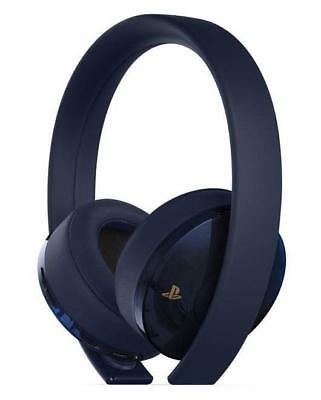 PS4 GOLD WIRELESS Headset - 500 Million Limited Edition - Black New ... 3c52de3fed53