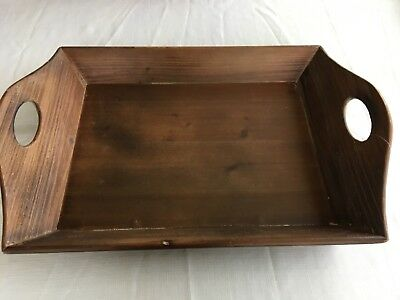 Fabulous Large Rustic Wooden Serving Tray Ottoman Distressed Antique Short Links Chair Design For Home Short Linksinfo