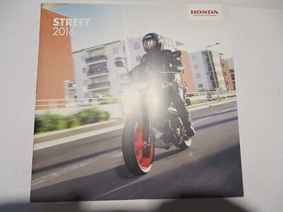 Catalogue Moto : Honda : Street 2016